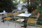 Външни метални столове за басейни