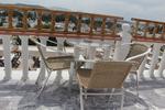 Стол от метал за дома,заведението,градината