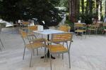 Метални столове за заведения с доставка