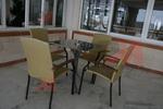 Метални столове с разнообразни размери цени