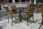 Евтин комфортен метален стол