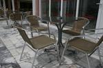 Градински стол произведен от метал цени