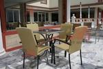 Универсален стол от метал за хотели за вътрешно и външно използване