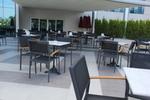 Модерни градински метални столове