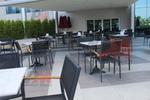 Модерни градински столове от метал