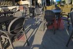 Основи за маси за кафенета, за външно ползване
