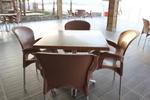Комбинирана база за маса за външно ползване