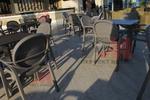 Метални стойки за маса за външно ползване