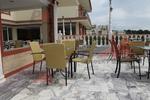 метални мебели-столове за лятно заведение за вътрешна и външна употреба
