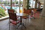 Дизайнерска база за бар маса за басейн