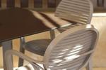 Метални стойки за маса за ресторант