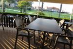 Стойка за маса за ресторант за външно ползване