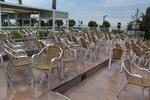 Алуминиеви столове за плаж с различни седалки