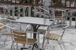 Устойчив алуминиев стол за заведение
