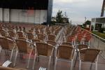 Алуминиеви столове с цени, с различни седалки