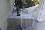 Метална алуминиева бар маса