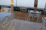 Метална алуминиева маса за плаж
