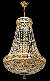 Кристален полилей с висулки - JWZ014121100 /1-6-4