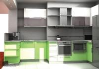 Проектиране и изработка на мебели за модерна кухня  София