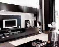 секция черен гланц-ПРОМОЦИЯ от Перфект Мебел