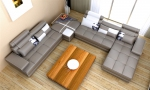 п-образна мека мебел