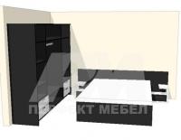 Поръчкова изработка на спалня за  София поръчка