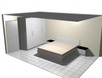 Спалня с неповторим дизайн за  София