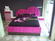 Уникална тапицирана спалня София лукс
