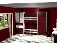 Композиции от шкафове за дневна по поръчка за  София магазин
