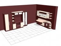 Модулно обзавеждане за дневна стая по поръчка за  София