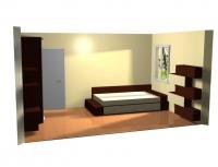 Спалня по проект дизайнерска за  София