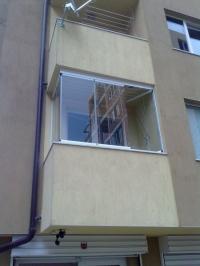 Балкони с безпрофилно остъкляване