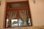 качествена PVC дограма с имитация на дърво