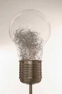Настолна лампата Bulb Glow