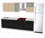 Проект за кухненски интериор 131-2616