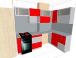 Проектиране на кухня по каталог  177-2616