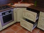 Кухня по проект с ъглова мивка 209-2616