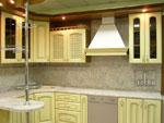 Кухня в бяло по поръчка 214-2616