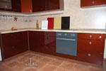 Кухня по поръчка - цвят махагон 231-2616