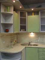 Зелена кухня по поръчка 254-2616