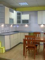 Кухня в жълто и зелено 256-2616