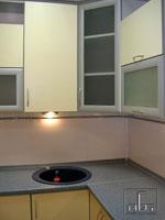 Кухня по поръчка с малка мивка 257-2616