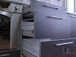 Кухня по проект с материали по избор на клиента 262-2616