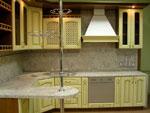 Кухненски проект с вграден барплот 282-2616