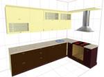 Изпълнение на 3D кухненски проекти 308-2616