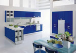 Поръчкова кухня Синьо лято 332-2616