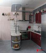 Махагонова кухня по поръчка 336-2616