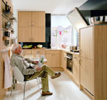 Изпълнение на проектни решения за малка кухня 360-2616