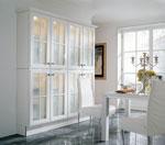 Интериорно решение за кухня в бял цвят 377-2616