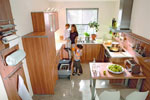 Кухня от ПДЧ по поръчка 417-2616